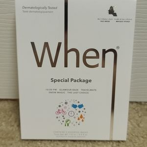 NWT When Beauty Special Package 5 Assorted Masks